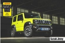 SUZUKI ALL NEW JIMNY СТАЛ ПОБЕДИТЕЛЕМ AUTOCAR AWARDS 2019